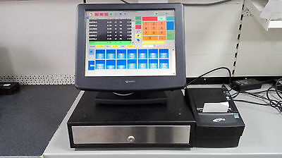 "15"" Touchscreen Epos Till System Complete For Hsopitality Or Retail  Cash Till"