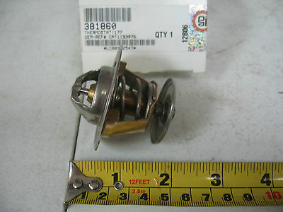 Thermostat 177° for Caterpillar 3116, 3126, & 3126B. PAI # 381860 Ref. # 1193075