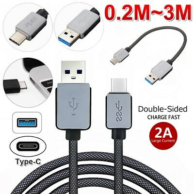 GENUINE Type C USB Sync Charger Charging Fast Cable for Samsung Galaxy S9 S8+ S8