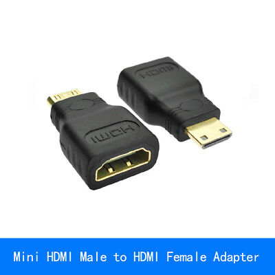 Gold Plated HDMI Female to Type C Mini HDMI Male Adapter Convertor converter