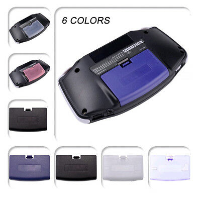1x For Nintendo Gameboy Advance GBA Console Battery Cover Back Door Lid Replace