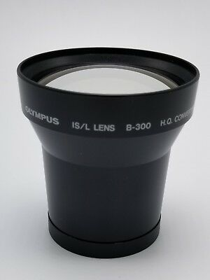 Olympus B-300 IS/L H.Q. Converter 1.7X Lens for 55mm, WITH BAG