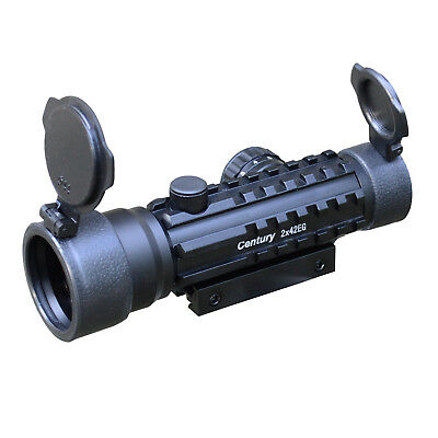 Rotpunktvisier/ Red Dot Sight Green Sportschützen Visier 2x42 EG
