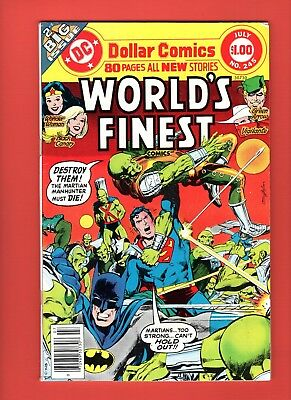World's Finest  #245 -  80 pages - Neal Adams cover!  -- --  VF-  cond.