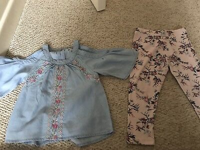 Girls River Island Mini outfit 18-24 Month