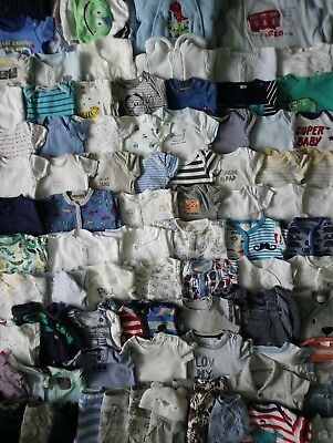 Massive Baby Boys Spring Summer Clothes Bundle 0 - 3 Months/Over 100 Items