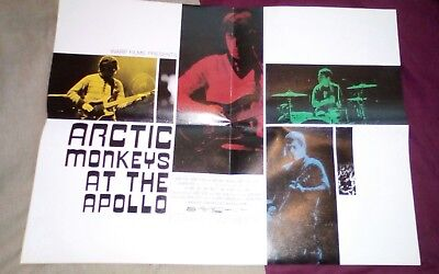 ARCTIC MONKEYS At The Apollo FLYER UK Promo 1Sided Flyer For Cinemas=60CmsX45Cm