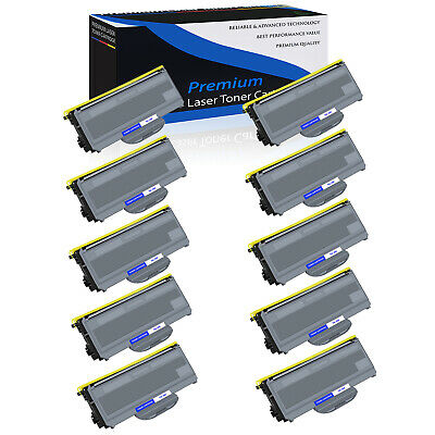 10 High Yield TN360 330 Toner Cartridge For Brother HL-2140 2170W MFC-7340 7840W