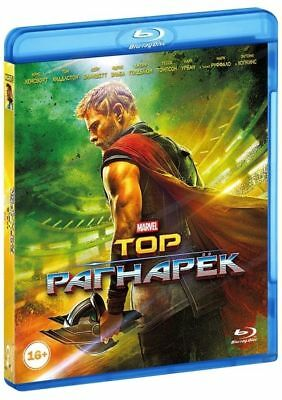 *NEW* Thor: Ragnarok (Blu-ray, 2018) English, Russian, Hindi