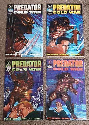 "Predator ""Cold War"" #1-4 complete, NM, Dark Horse Comics"