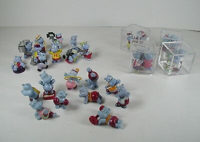 3 Kinder Surprise Sets Happy Hippo Gym, Hollywood, Office Hand Painted