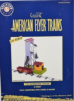 American Flyer by Lionel 49807 #752 Searboard Coaler NRB New Old Stock