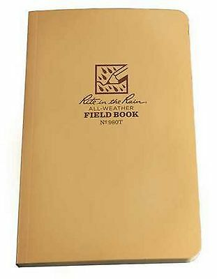 New Rite In The Rain 980T Tan All Weather Field-Flex Tactical Bound Book
