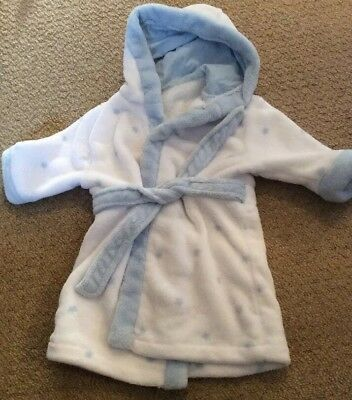 Dressing Gown Mothercare Super Soft Gorgeous 6-9 Months Excellent Condition