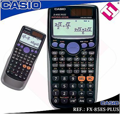 Calculatrice Casio Scientifique Technique Fx-85Es-Plus 252 Fonctions Dernières
