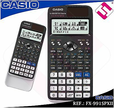 Calculatrice Casio Fx-991Spxii École Secondaire De L'Université