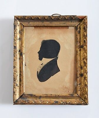 1825 Silhouette picture of N S Littlefield of Alfred, ME by William Chamberlain*
