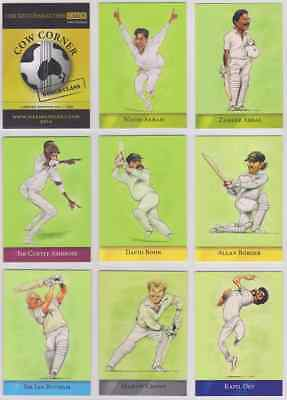 Cow Corner Official John Ireland Cricket Trading Card Set - World Class