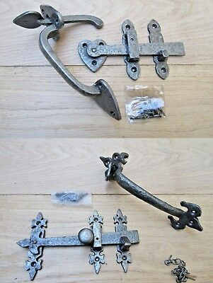 Cast Iron Cottage Country Suffolk Thumb Door Gate Latch Old Style