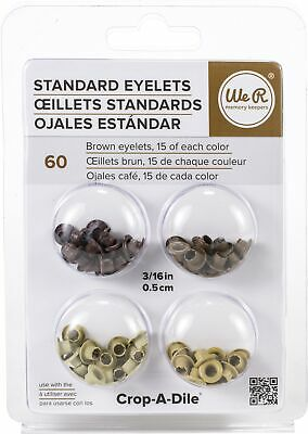 Standard We R Memory Keepers Eyelets For Scrapbooking Red Pkgred Assortment