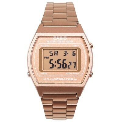 Casio Watches B640WC-5AVT gold rose gold