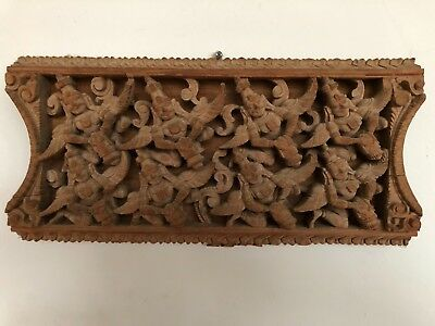 Antique Indian Hindu Wood/Sculpture over 100 years old. Superb condition