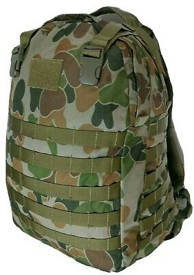 Auscam 40Lt Hydro Molle Backpack Air Mesh Harness #free 2Lt Bladder - Tas 1206