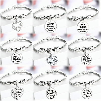 Gifts For Her Daughter Mother Sister Niece Mom Pendant Jewelry Bracelet Presents