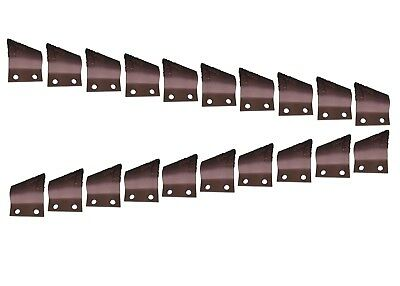 "Cupped Trenching Teeth w Carbide- B135924, B135925, 2"" Centers on Bolt Holes"