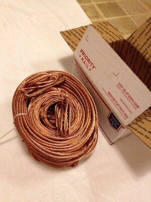 30-lbs Clean Bare Bright stranded Scrap Copper Wire For Crafts Jewelry Foundry
