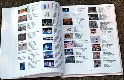 Animation Art(cels) REFERENCEGUIDE book- Disney, HB, Warner Bros., and Others