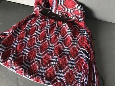 Old Papua New Guinea Woven Wool Billum Bag (a) …beautiful collection / accent...