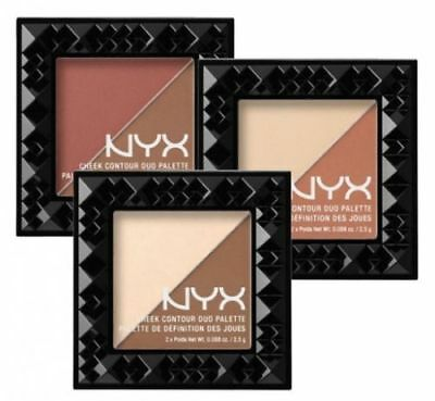 NYX Cosmetics Cheek Contour Duo Palette Compact 5g CHOOSE YOUR COLOR