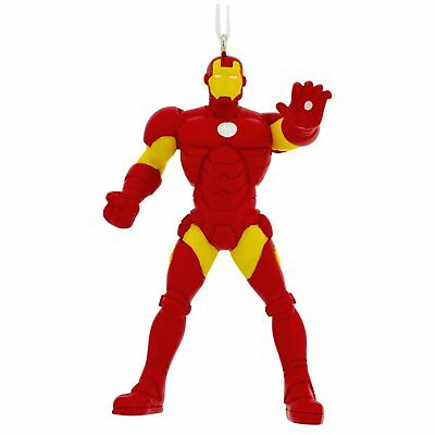 2017 Hallmark Christmas Marvel Ornament Ironman The Avengers Figurine New In Box