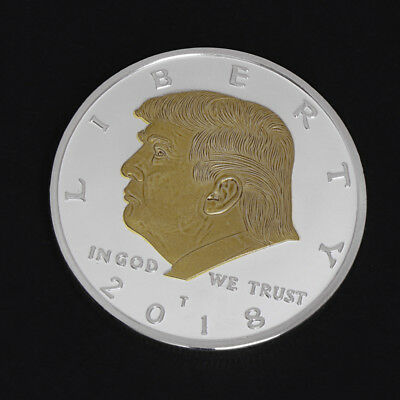 Collection American President Trump Commemorative Challenge Coin Art Gift 2018