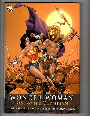 Wonder Woman Rise Of The Olympian DC Comics Hardcover Graphic Novel Book J304