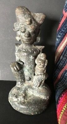 Old Sulawesi Cast Metal Figure …beautiful collection piece
