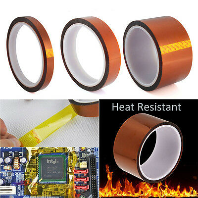 33m Kapton Tape Temperature Heat Resistant Polyimide BGA 3D Printer PCB Tool