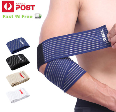 Elbow Wrist Ankle Knee Sports Support Brace Bandage Compression Wrap - AUS