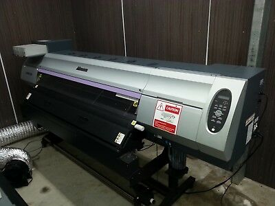 Mimaki JV400SUV wide format outdoor signage and sticker printer with cutter