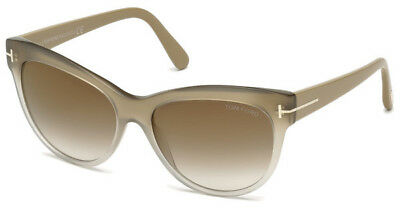 Tom Ford Damen Sonnenbrille » FT0532«, orange, 44F - orange/braun