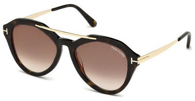 Tom Ford Damen Sonnenbrille » FT0579«, braun, 52G - braun/braun
