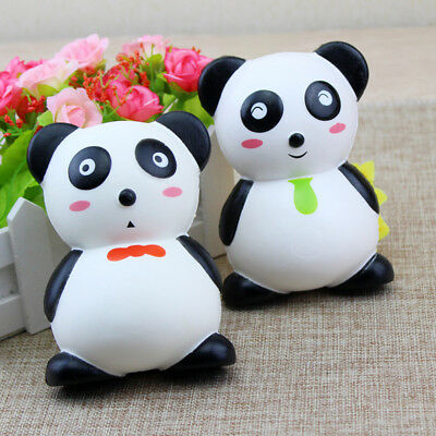 LC_ EG_ HK- Cute Cartoon Panda Squishy Slow Rising Stress Relief Toy Kid Adult