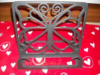 The Pioneer Woman Timeless Beauty Cast Iron Cookbook Holder Black