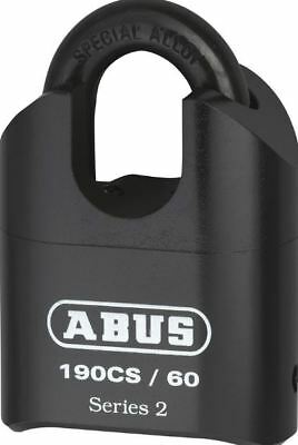 Combination Padlock- 4 Wheel - 60mm - Closed Shackle - ABUS
