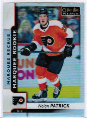 17/18 O-PEE-CHEE PLATINUM HKY MARQUEE ROOKIES RC CARDS #151-200 U-Pick From List