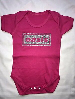 OASIS glitter  baby vest 12-18 months various colours soft touch