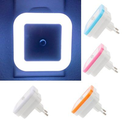 Plug in PIR Motion Sensor Hallway Living Aid Safety LED Night Light