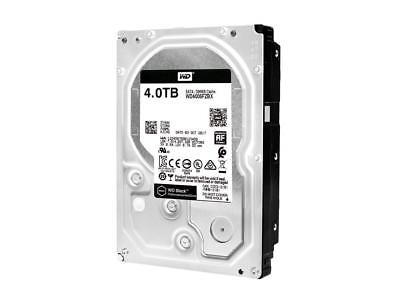 "WD Black 4TB HDD Performance Hard Disk 7200RPM 256MB Cache 3.5"" SATA WD4005FZBX"