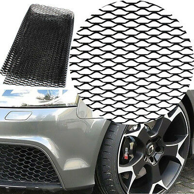 Universal Aluminum Car Vehicle Grille Net Mesh Section Bumper Body Fender Kit